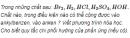 Câu 3 trang 207 SGK Hóa học 11 Nâng cao