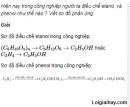 Câu 4 trang 235 SGK Hóa học 11 Nâng cao