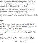 Câu 5 trang 235 SGK Hóa học 11 Nâng cao