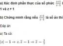 Câu 19 trang 214 SGK Giải tích 12 Nâng cao