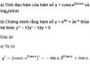 Câu 8 trang 212 SGK Giải tích 12 Nâng cao