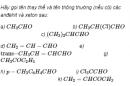 Câu 3 trang 243 SGK Hóa học 11 Nâng cao