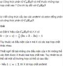 Câu 5 trang 243 SGK Hóa học 11 Nâng cao