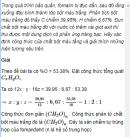 Câu 9 trang 247 SGK Hóa học 11 Nâng cao