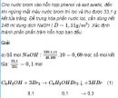 Câu 7 trang 260 SGK Hóa học 11 Nâng cao