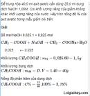 Câu 8 trang 257 SGK Hóa học 11 Nâng cao