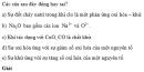 Bài 4 trang 103 SGK Hóa học 10 Nâng cao