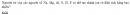 Bài 6 trang 70 SGK Hóa học 10 Nâng cao