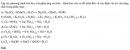 Bài 6 trang 103 SGK Hóa học 10 Nâng cao