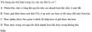 Bài 1 trang 216 SGK Hóa học 10 Nâng cao