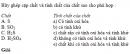 Bài 2 trang 186 SGK Hóa học 10 Nâng cao