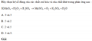 Bài 3 trang 186 SGK Hóa học 10 Nâng cao