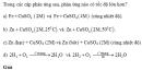 Bài 3 trang 216 SGK Hóa học 10 Nâng cao
