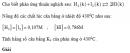 Bài 7 trang 213 SGK Hóa học 10 Nâng cao