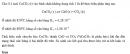 Bài 7 trang 217 SGK Hóa học 10 Nâng cao