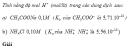 Câu 11 trang 29 SGK Hóa học 11 Nâng cao