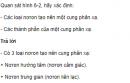 Câu hỏi thảo luận số 4 trang 21 SGK Sinh 8