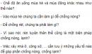 Câu hỏi thảo luận số 3 trang 106 SGK Sinh 8