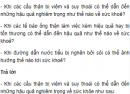 Câu hỏi thảo luận số 1 trang 129 SGK Sinh 8