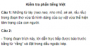 Soạn bài Kiểm tra phần tiếng Việt - Ngắn gọn nhất