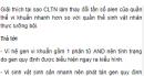 Giải thích tại sao CLTN làm thay đổi tần số alen của quần thể vi khuẩn - trang 115