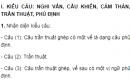 Soạn bài Ôn tập và kiểm tra phần Tiếng Việt - Ngắn gọn nhất - Ngữ văn 8 tập 2