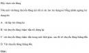 Bài 1 trang 66 SGK Vật lý 10 Nâng Cao