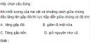 Bài 1 trang 78 SGK Vật Lý 10 Nâng Cao