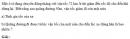Bài 1 trang 36 SGK Vật Lý 10 Nâng Cao