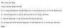 Bài 1 trang 42 SGK Vật Lý 10 Nâng Cao