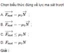 Bài 2 trang 93 SGK Vật Lý 10 Nâng Cao