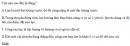 Bài 1 trang 159 SGK Vật lý lớp 10 nâng cao