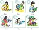 A. Schedules - Unit 4 trang 42 SGK Tiếng Anh 7