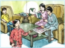 C. Families - Unit 3 trang 38 SGK Tiếng Anh 6