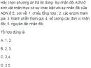 Câu 5 trang 10 SGK Sinh học 12 nâng cao