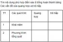 Câu 3 trang 87 SGK Sinh học 11 Nâng cao