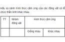 Câu 4 trang 104 SGK Sinh học 11 Nâng cao