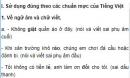 Soạn bài Những yêu cầu về sử dụng Tiếng Việt - Ngắn gọn nhất
