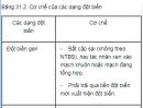 Câu 4 trang 124 SGK Sinh học 12 nâng cao