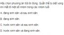 Câu 5 trang 218 SGK Sinh học 12 nâng cao