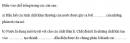 Câu 3 trang 27 SGK Sinh học 10 Nâng cao
