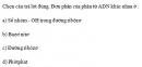 Câu 4 trang 38 SGK Sinh học 10 Nâng cao
