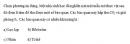 Câu 4 trang 56 SGK Sinh học 10 Nâng cao