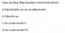Câu 4 trang 35 SGK Sinh học 10 Nâng cao