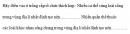 Câu 5 trang 9 SGK Sinh học 10 Nâng cao