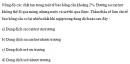 Câu 5 trang 67 SGK Sinh học 10 Nâng cao