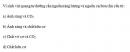 Câu 1 trang 162 SGK Sinh học 10 Nâng cao