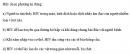 Câu 6 trang 151 SGK Sinh học 10 Nâng cao