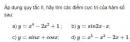 Bài 2 trang 18 SGK Giải tích 12