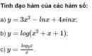 Bài 5 trang 78 SGK Giải tích 12